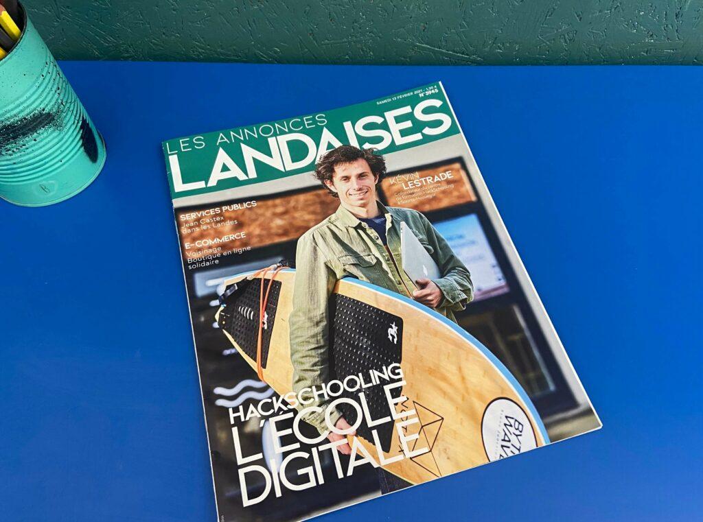 Couverture Annonces Landaises Hackschooling